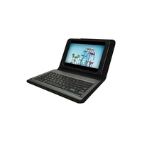 PureGear Universal Folio and Keyboard, 8in, Black