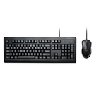 Kensington Wired Keyboard and Wired Mouse Combo in Black