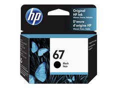 HP 67   PIGMENTED BLACK   ORIGINAL   INK CARTRIDGE