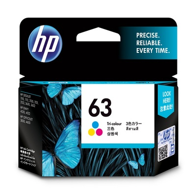 HP F6U61AN#140 TRI Color 63 INK CART 11678463   The