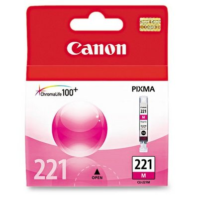 Canon Cli221 Magenta Ink Cartridge