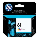 HP CH562WN#140 GENUINE 61 TRI Color INK DE  10218548