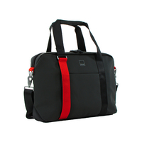 Acme Made North Point Attache Messenger Bag, 14in, Matte Black
