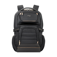 Solo New York Arc Backpack,  19in,  BlackGold, BlackGold