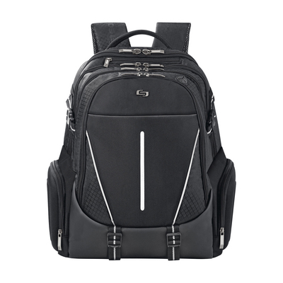 Solo New York Elite Backpack, 17in, Black