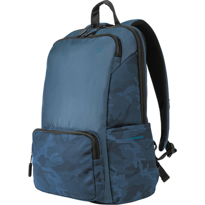 Tucano Terras Camouflage Backpack, 15.6in FHD, Blue