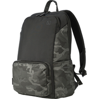 Tucano Terras Camouflage Backpack, 15.6in, Black