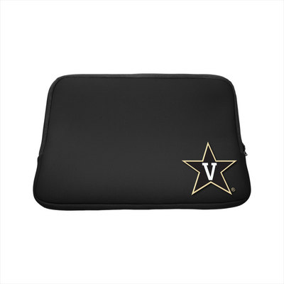 Centon Vanderbilt University Black Laptop Sleeve, Classic  15