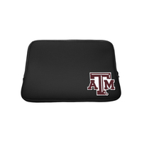 Texas A&M University Custom Logo Sleeve Black 13in