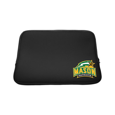 George Mason University Custom Logo Sleeve Black 15in