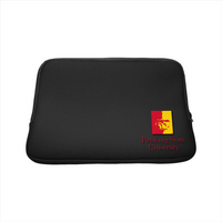 Pittsburg State University Custom Logo Sleeve 15in, Black
