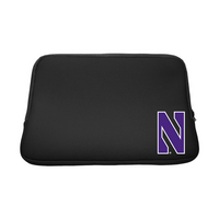Centon Northwestern University Black Laptop Sleeve, Classic V1  13
