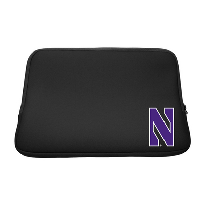 Centon Northwestern University Black Laptop Sleeve, Classic V1  15