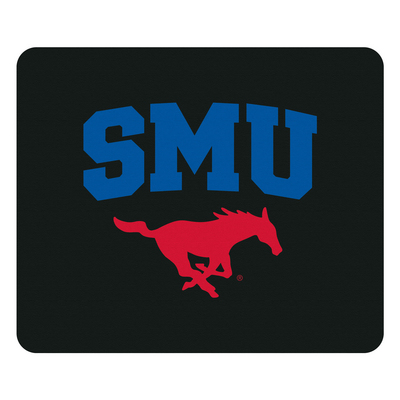 Centon Southern Methodist University Black Mouse Pad, Classic