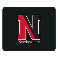 Centon Northeastern University Black Mouse Pad, Classic