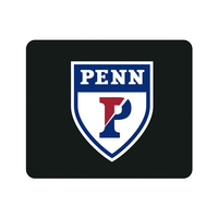 Centon University of Pennsylvania Black Mouse Pad, Classic