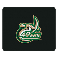 Centon University of North Carolina  Charlotte Black Mouse Pad, Classic