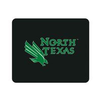 Centon University of North Texas Black Mouse Pad, Classic