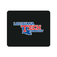Centon Louisiana Tech University Black Mouse Pad, Classic