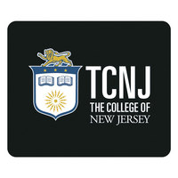 The College of New Jersey Custom Logo Mouse Pad, 8.5in