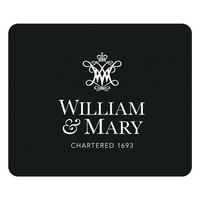 William & Mary Custom Logo Mouse Pad, 8.5in