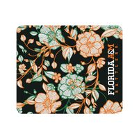 Black Mousepad, Floral Lace V1