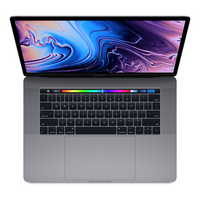 New 15 inch MacBook Pro with Touch Bar 2.6GHz 512GB Storage Space Gray