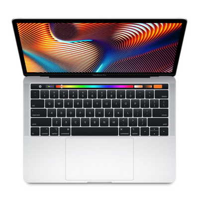New 13 inch MacBook Pro with Touch Bar 2.3GHz 512GB Storage Silver