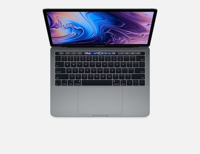 New 13inch MacBook Pro Touch Bar 2.4GHz quadcore 8thGen Intel Core i5 processor 256GB Space Gray