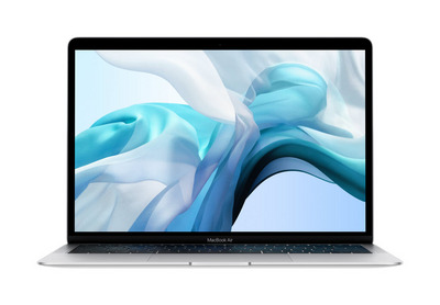 New 2019 13inch MacBook Air 1.6GHz dualcore 8thgeneration Intel Core i5 processor, 128GB Silver