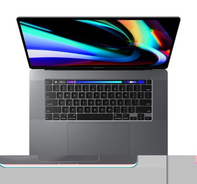 16 inch MacBook Pro wTouch Bar 2.6GHz 6 core 9th Gen IntelCorei7 processor 512GB Space Gray