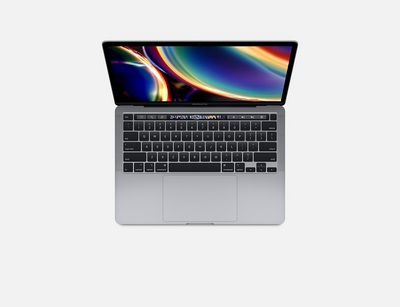 13inch MacBook Pro w Touch Bar 1.4GHz quadcore 8thgen Intel Core i5 processor 512GB SP GR (2020)