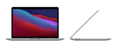 13inch MacBook Pro with Touch Bar Apple M1 chip with 8core CPU and 8core GPU, 512GB  Space Gray