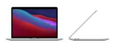 13inch MacBook Pro Apple M1 chip with 8?core CPU and 8?core GPU, 512GB SSD  Silver