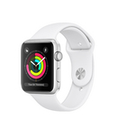 Apple Watch Series 3 GPS, 38mm Silver Aluminum Case with Sport Band