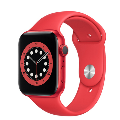 Apple Watch Series 6 GPS, 40mm PRODUCT(RED) Aluminum Case with PRODUCT(RED) Sport Band  Regular