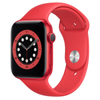 Apple Watch Series 6 GPS, 44mm PRODUCT(RED) Aluminum Case with PRODUCT(RED) Sport Band  Regular