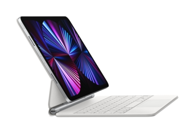Magic Keyboard for iPad Pro 11inch (3rd generation) and iPad Air (4th generation)  US English  White