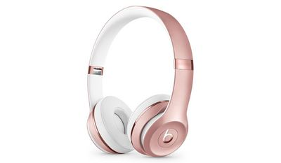 Beats Solo3 Wireless On Ear Headphones  Rose Gold