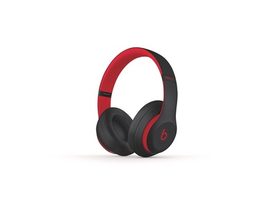 Beats Studio3 Wireless Over Ear Headphones  Black Red