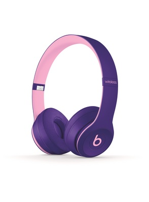 Beats Solo3 Wireless On Ear Headphones Pop Collection  Pop Violet