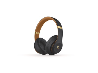 Beats Studio3 Wireless Over Ear Headphones Skyline Collection Midnight Black