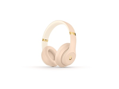 Beats Studio3 Wireless Over Ear Headphones Skyline Collection  Dessert Sand