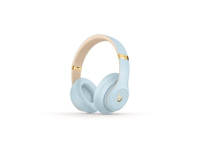 Beats Studio3 Wireless Over Ear Headphones Skyline Collection  Crytsal Blue