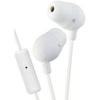 JVC Marshmallow Headphones with Mic, White