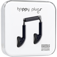 Happy Plugs  7705 Earbud wMicBlack