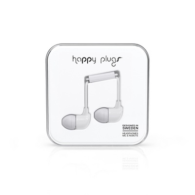 Happy Plugs In Ear Earbuds Whi