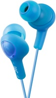 JVC GUMY PLUS IN EAR HEADPHONE BLUE