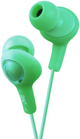 JVC GUMY PLUS IN EAR HEADPHONE, GREEN