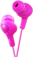 JVC GUMY PLUS IN EAR HEADPHONE, PINK